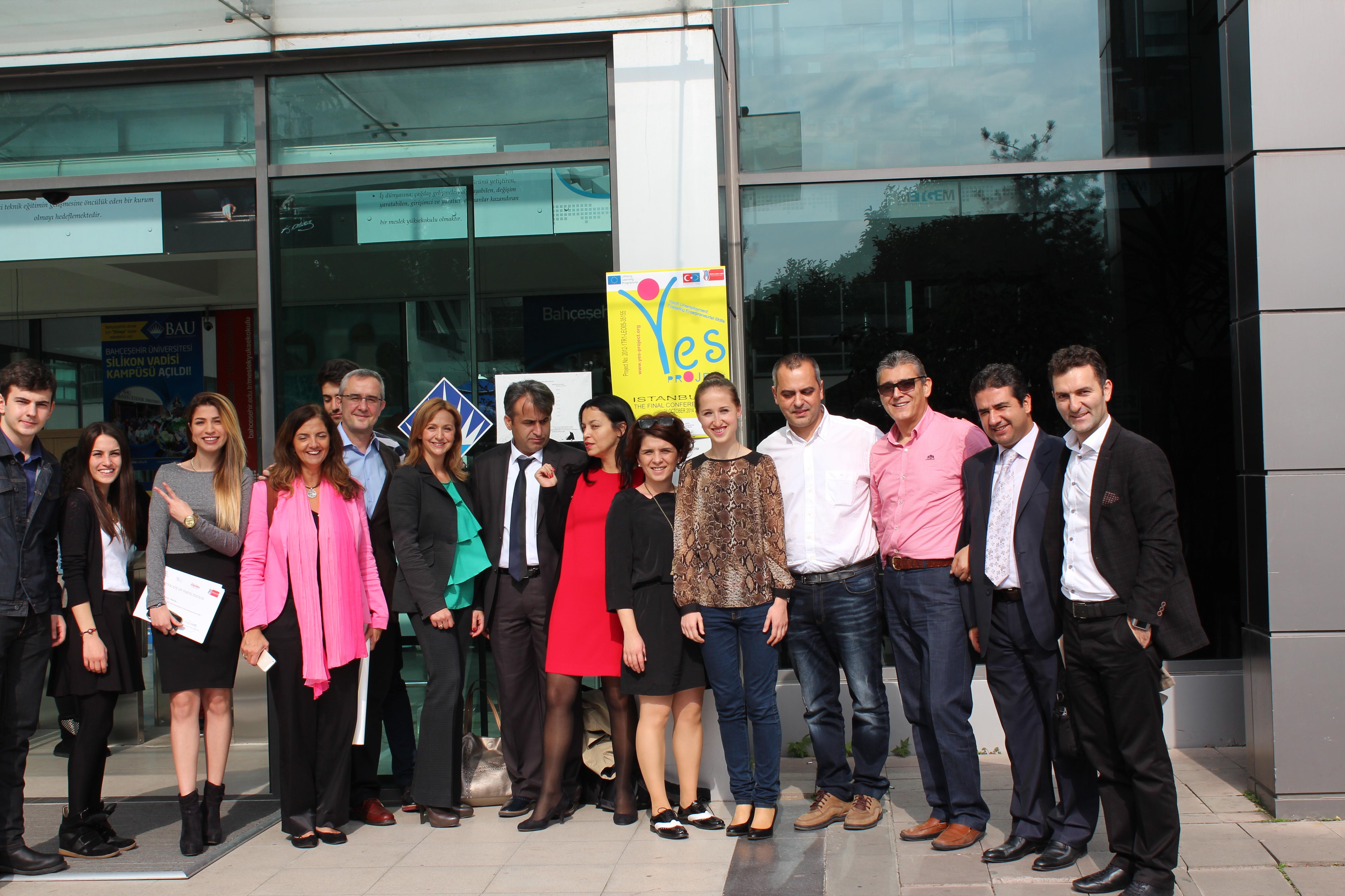 5η Διακρατική Συνάντηση για το έργο YES