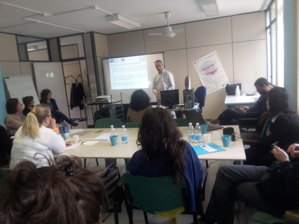 5η Διακρατική συνάντηση του έργου Europeans on the intercultural labor market