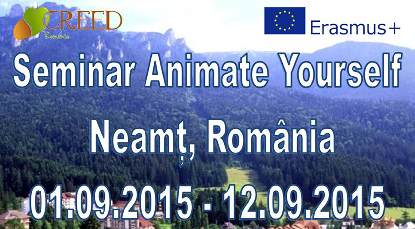 Πρόσκληση για συμμετοχή στο έργο «Animate Yourself!» στην περιοχή Neamt της Ρουμανίας