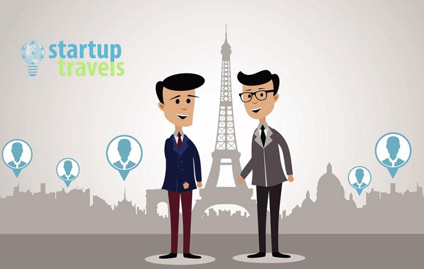 Το Startuptravels Σε Φέρνει Σε Επαφή Με Την Startup Κοινότητα Καθώς Ταξιδεύεις