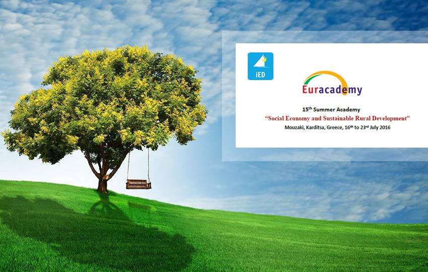 Το ΙΝ.ΑΝ.ΕΠ. συμμετέχει στη Θερινή Ακαδημία Euracademy 2016
