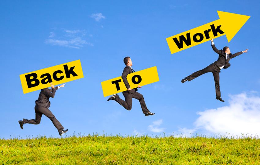 Επιστροφή στην εργασία: Επανακαλωδιώστε το μυαλό σας να το δει θετικά!