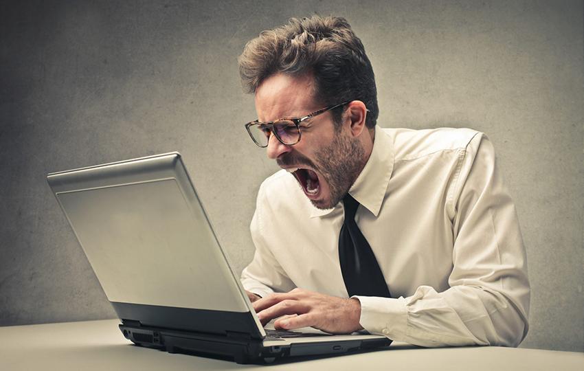 Το πρώτο πράγμα που πρέπει να κάνετε αν είστε εκνευρισμένος με τη δουλειά σας
