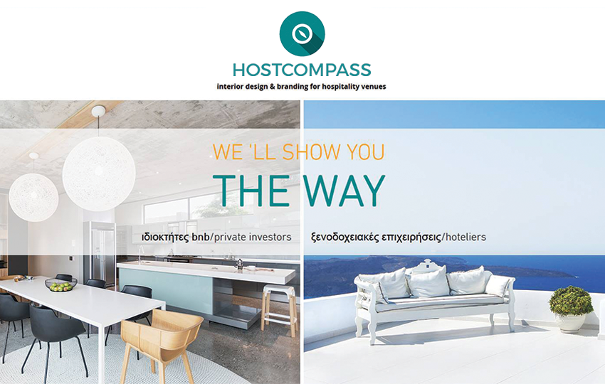 HOSTCOMPASS: Interior design & branding for hospitality venues
