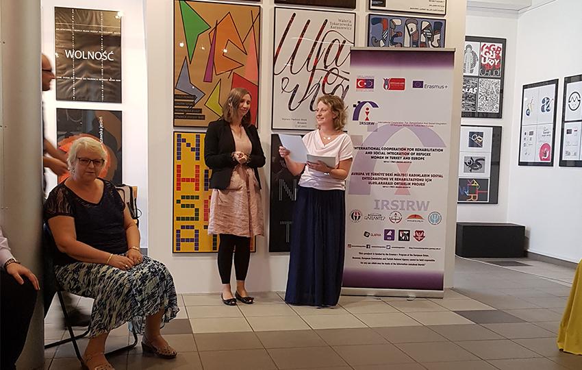 Ανάδειξη προσπαθειών και ανάπτυξη υλικού ευαισθητοποίησης για την υποστήριξη των γυναικών προσφύγων