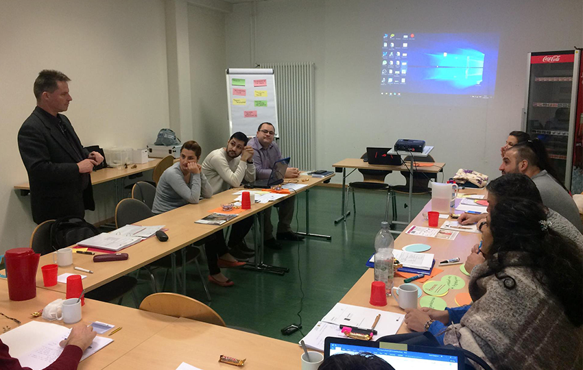 Δεύτερο εκπαιδευτικό σεμινάριο: Επιχειρηματικότητα και Ρομά