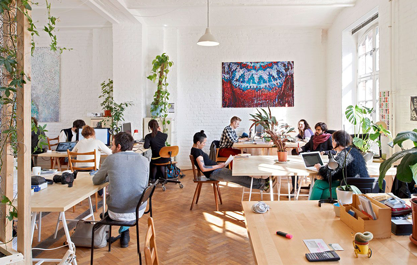 'Ερευνα για τη δημιουργία ευκαιριών απασχόλησης στους νέους μέσω των co-working spaces