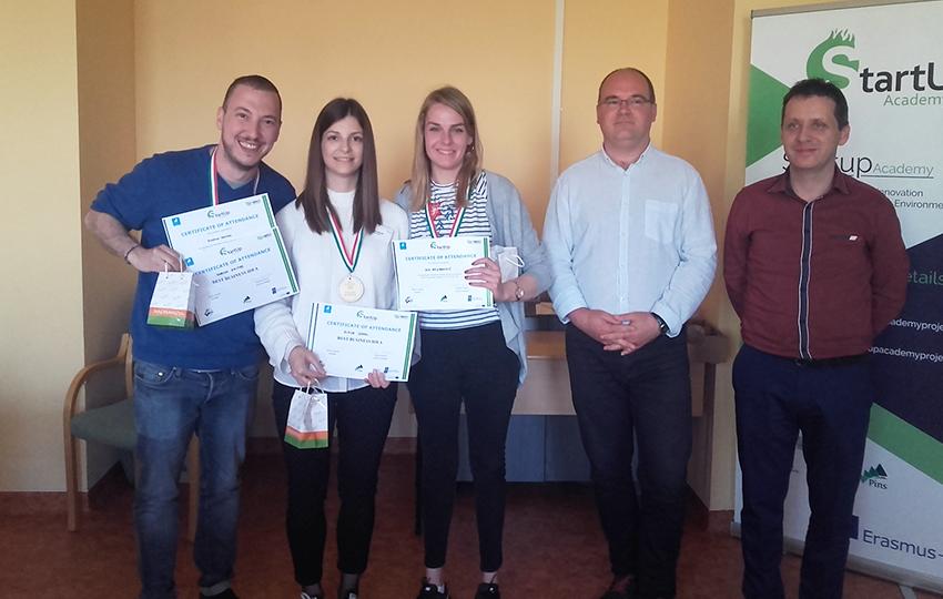 "Erasmus+ ""StartUp Academy"" Hackathon Training στην Nagykanizsa της Ουγγαρίας"