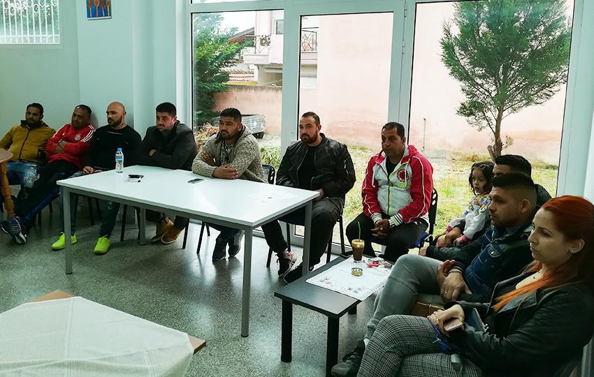 Σεμινάριο για της Βασικές Αρχές της Επιχειρηματικότητας στην τοπική κοινότητα Ρομά