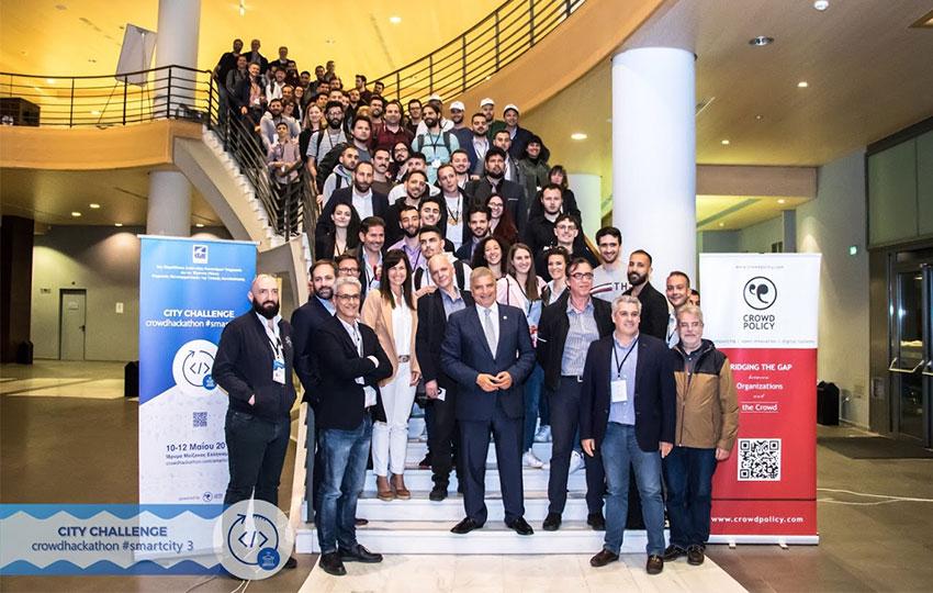 Δείτε τους νικητές στον 3ο Μαραθώνιο Καινοτομίας της ΚΕΔΕ για τις έξυπνες πόλεις – City Challenge Crowdhackathon Smartcity 3