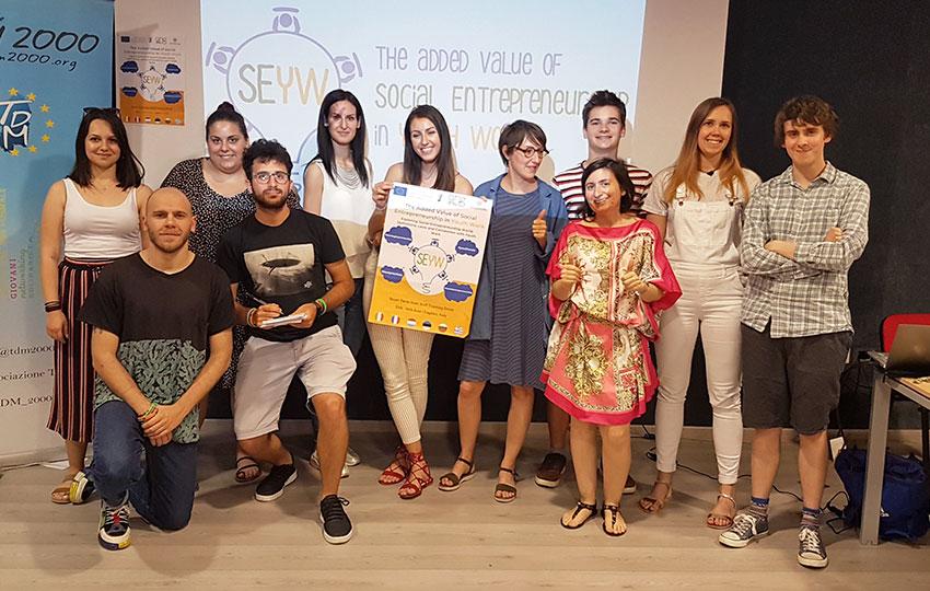 Εκπαιδευτικό σεμινάριο με θέμα την Κοινωνική Επιχειρηματικότητα στον τομέα της νεολαίας